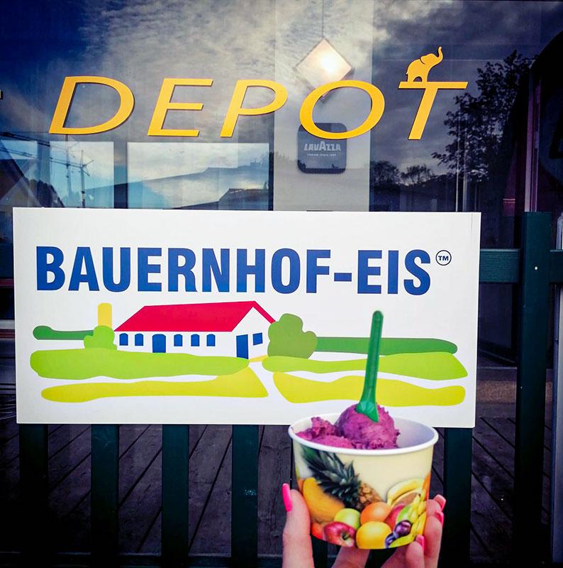 Cafe Bar Depot - Eis