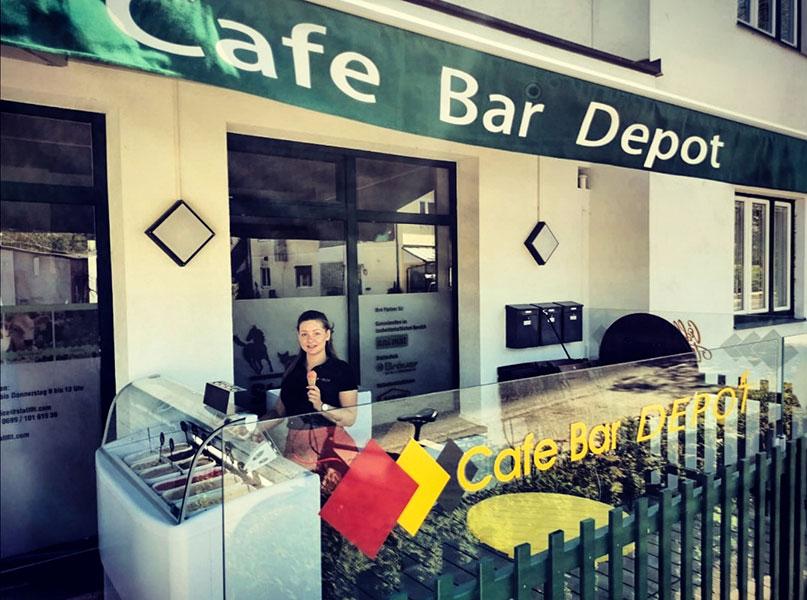 Cafe Bar Depot - Eisstand